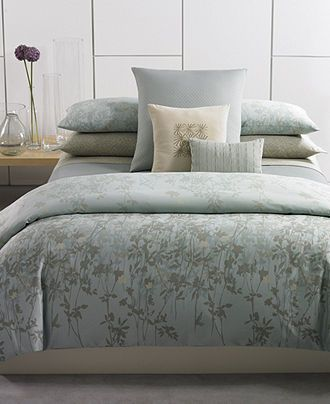 Calvin Klein Bedding Marin Comforter And Duvet Cover Sets Bedding Collections Bed Bath Macy S Duvet Cover Sets Bedding Deals Duvet Sets