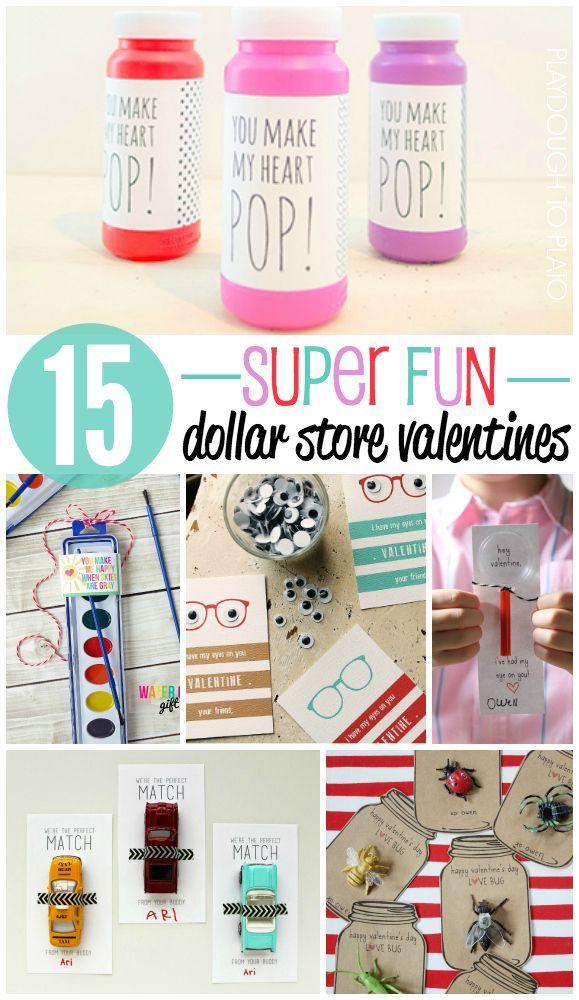 15 super fun dollar store valentines valentine day craftspreschool valentine ideaskids - Boy Valentine Ideas