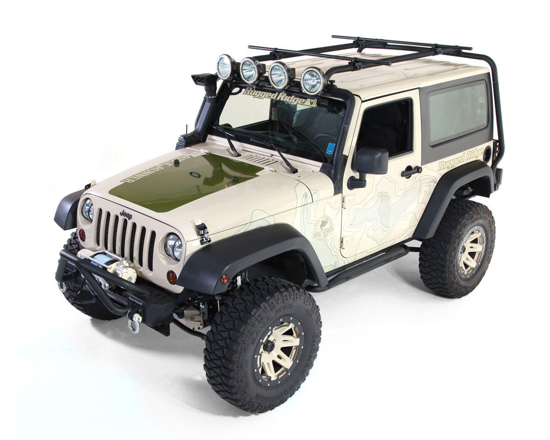 Sherpa Roof Rack Kit 2 Door 07 16 Jeep Wrangler Jk Jeep Wrangler Roof Rack Rugged Ridge