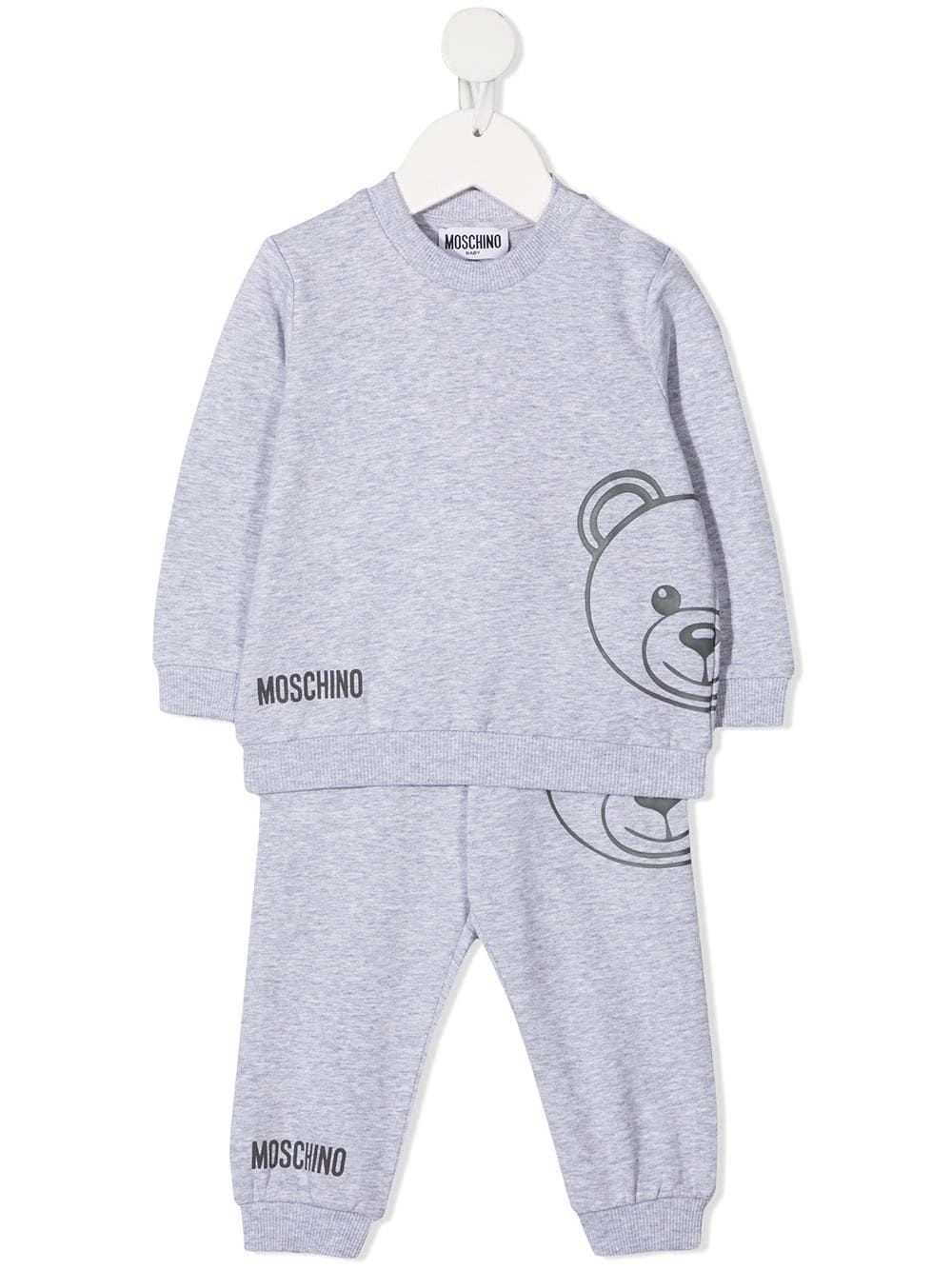 Moschino Kids Teddy Bear-print two-piece tracksuit