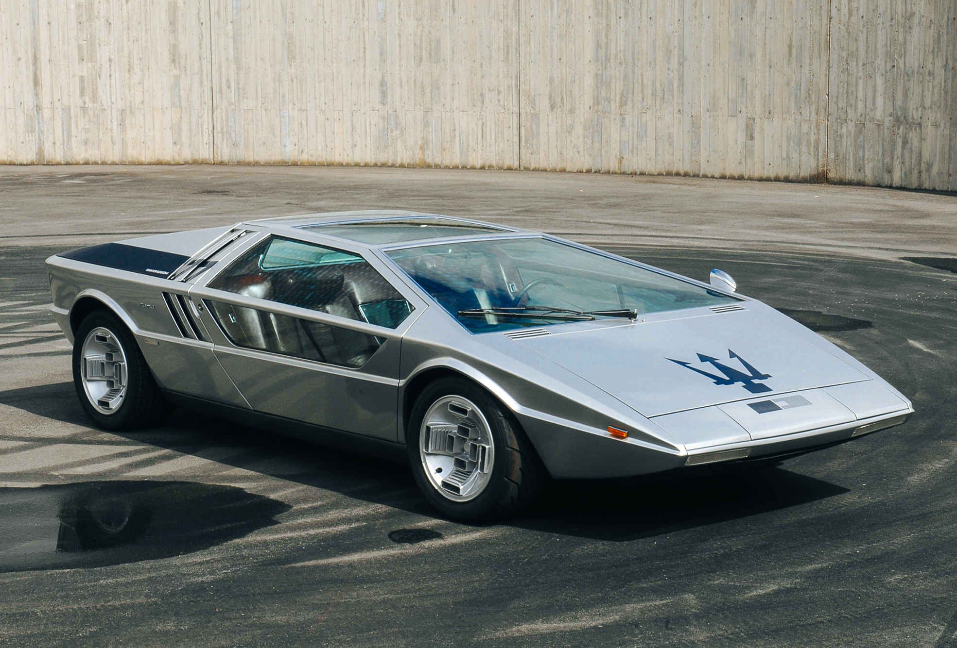 This 70s Maserati Concept Could Sell For 4 Million Maserati Concept Cars Classic Cars