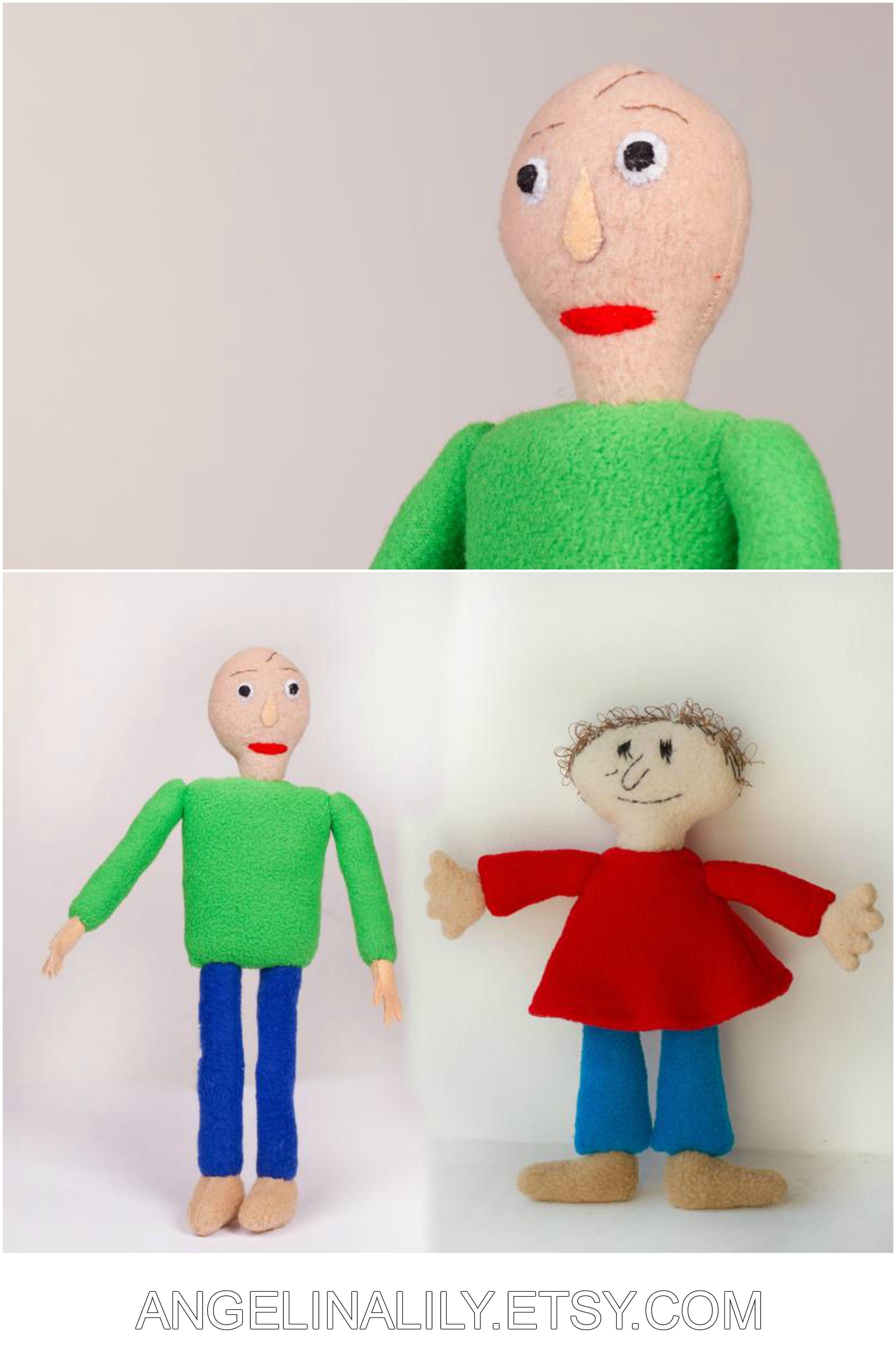 Baldi S Plush Baldi S Basics In Education And Learning Inspired Plush Handmade Soft Toy Two Sizes