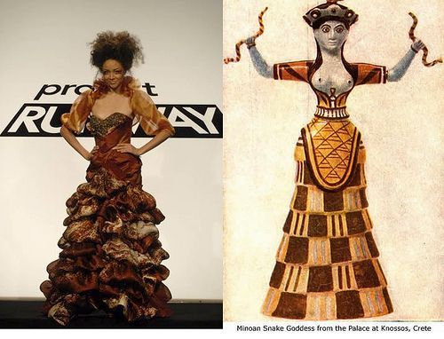 Avant Garde Greek Inspired Fashion Greek Fashion Fashion History