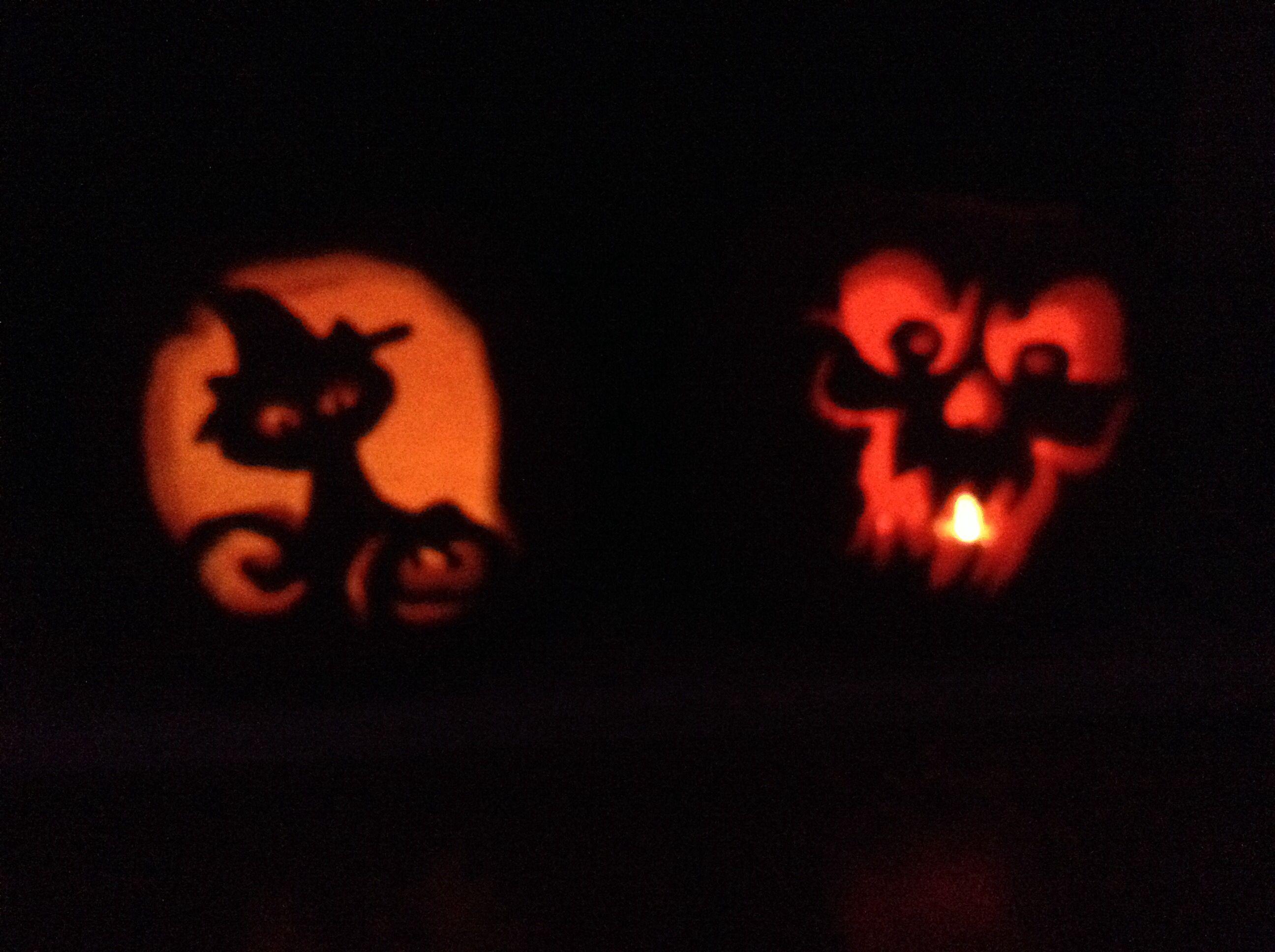 Pumpkins I carved