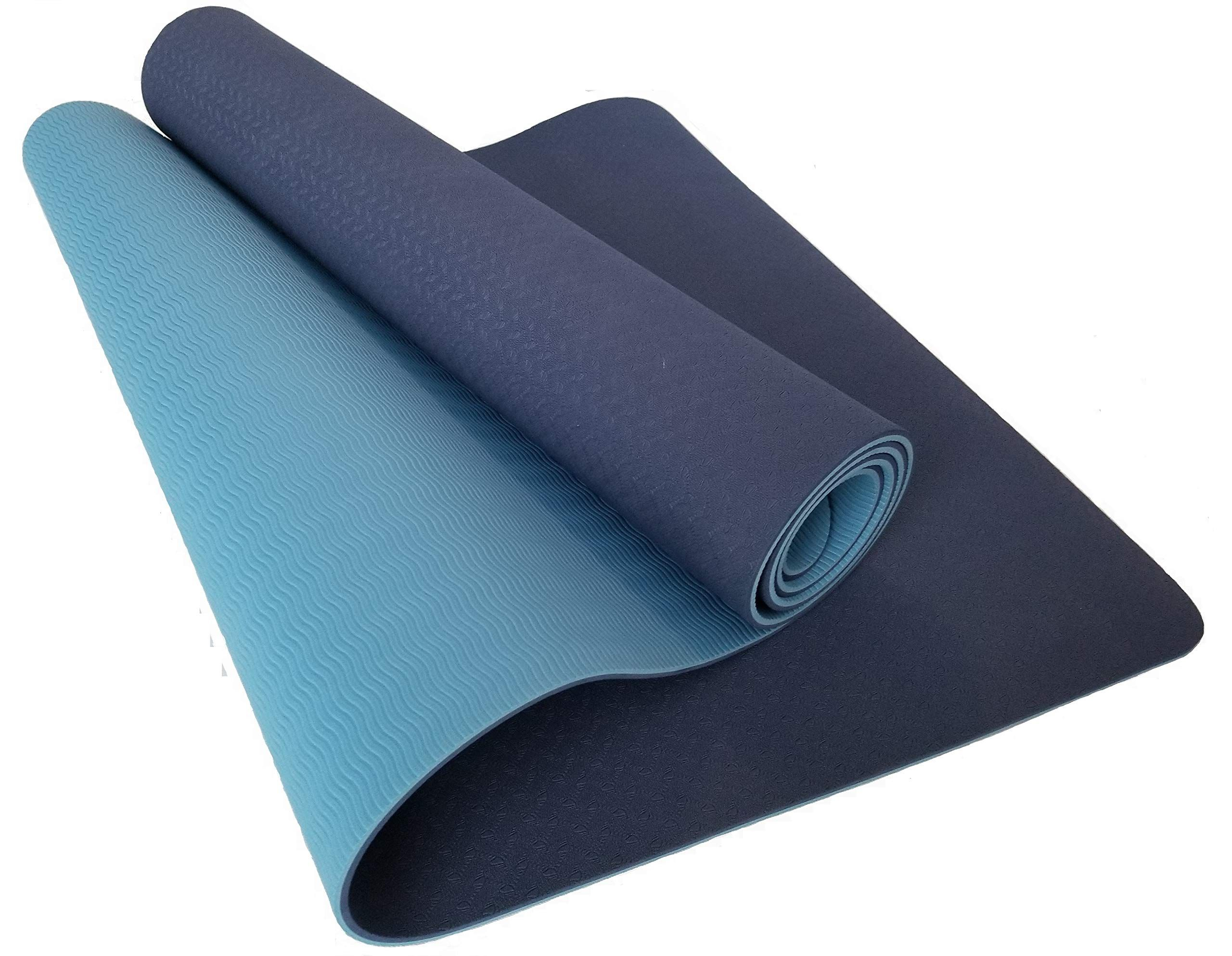 Total Balance Pro Yoga Mat For Yoga Pilates At Home Or In The Studio Light And Non Slip Designed For Comfort And Contr Pilates At Home Yoga Mat Yoga Pilates