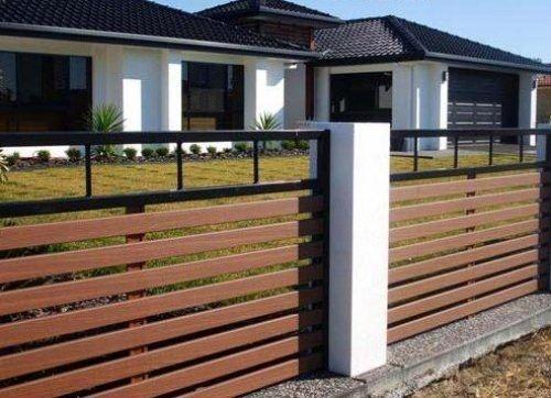 Cercofachadas de casas con rejas l pinterest rejas - Vallas para casas ...