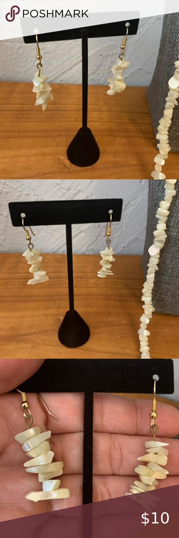 White Sea Shell Earrings One Of A Kind Shell Earrings Seashell Jewelry Real Shell Jewelry Gift For Her Beach In 2020 Shell Earrings Seashell Jewelry Shell Jewelry