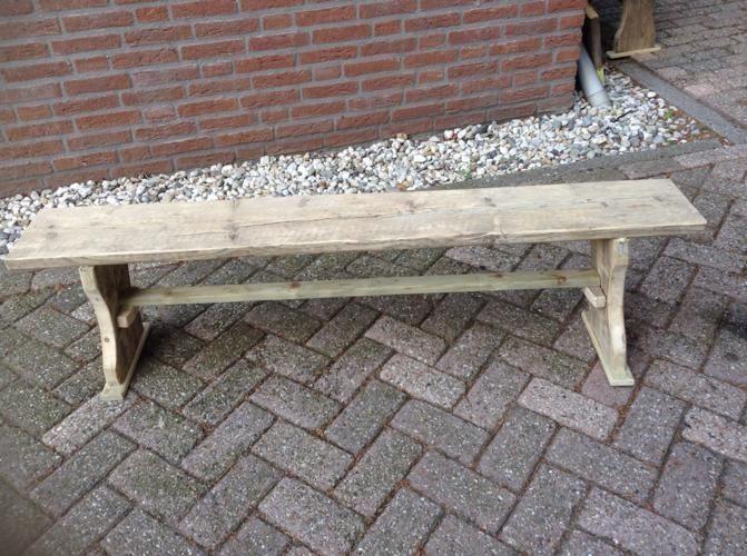 Bankje maken steigerhout baby kamer pinterest for Bankje steigerhout zelf maken