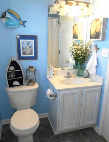 Nautical Theme For Bathroom Great Guidelines To Create Amazing - Nautica bathroom decor for small bathroom ideas