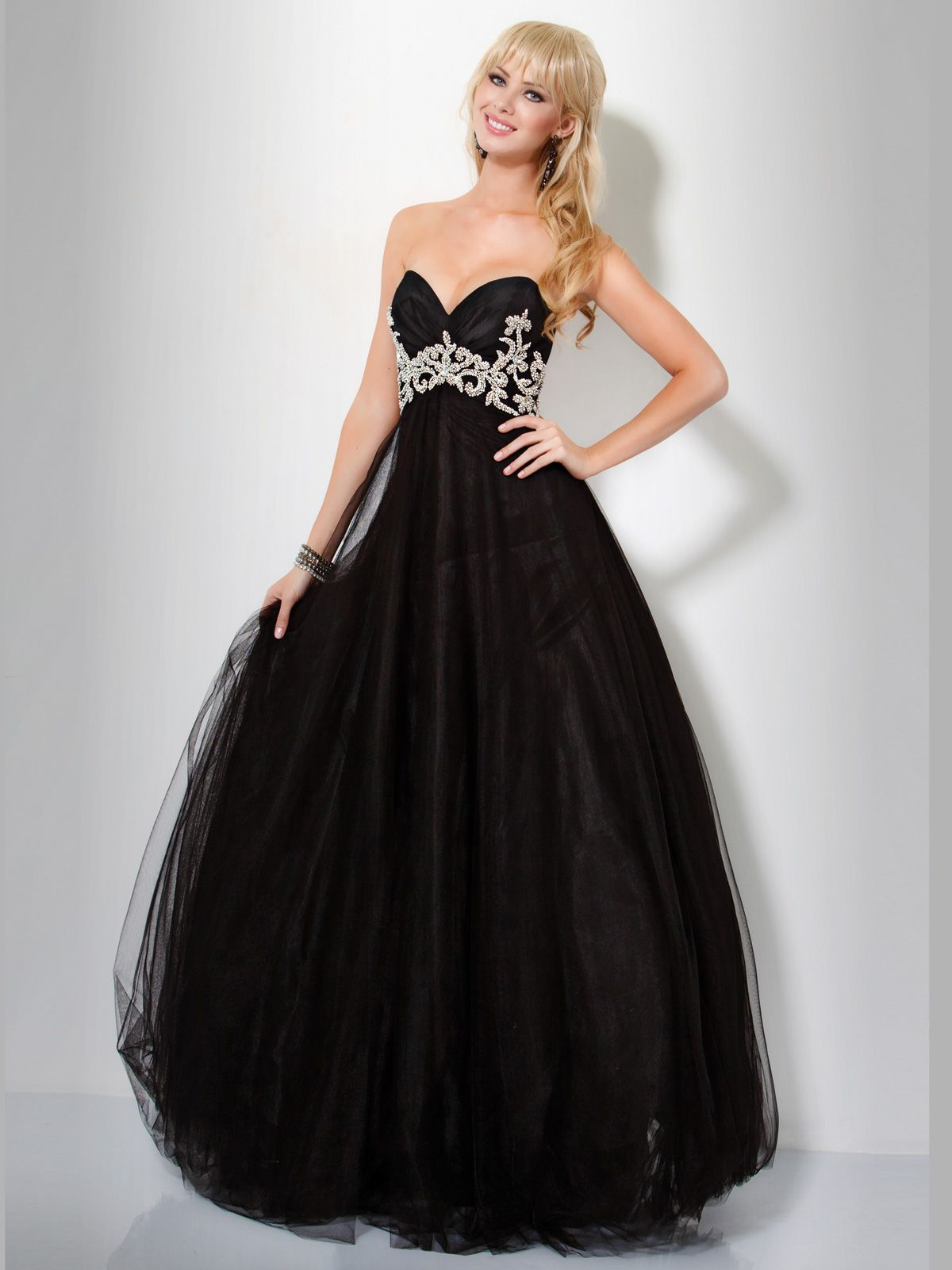 Genuine Couture Black Ball Gown Dresses Pinterest Ball