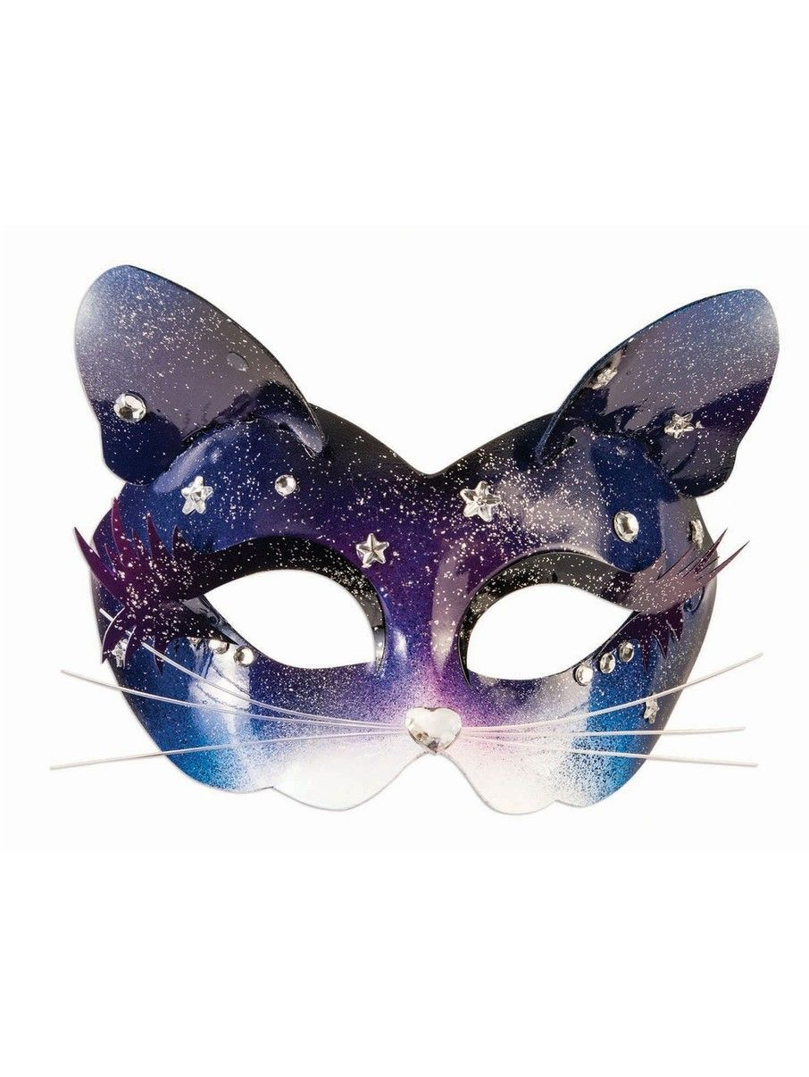 View Larger Image Of Celestial Space Kitten Mask Halloween Costumes Couples Diy Halloween Kitten Accessories