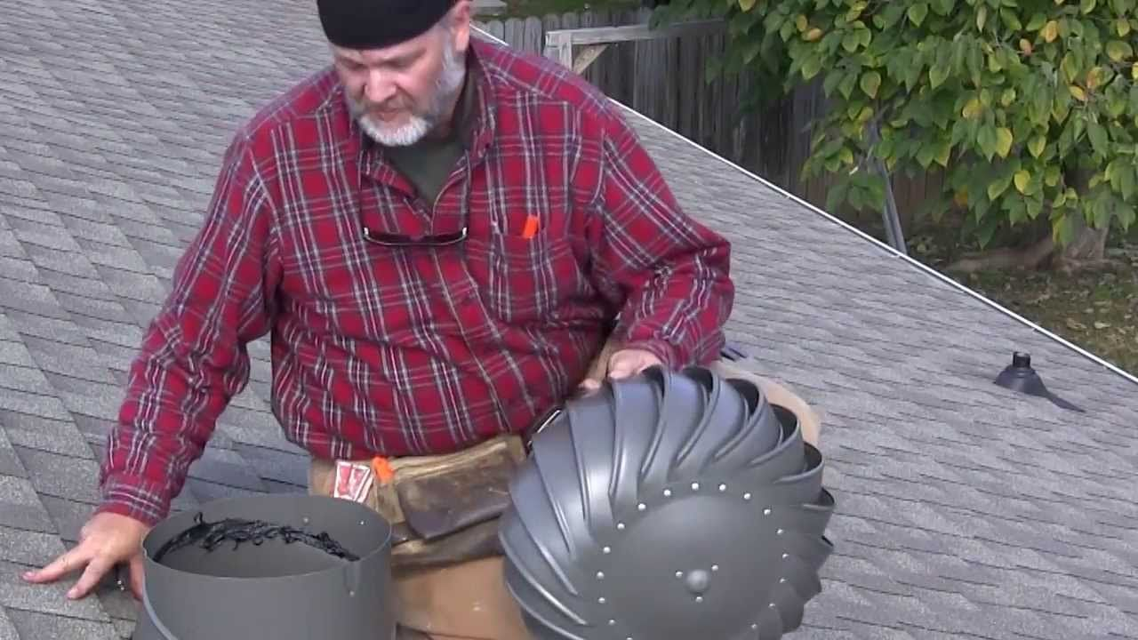 How To Install A Lomanco Whirlybird Turbine Vent Add Ventilation Your Metal Roof Vents Roofing Diy Roof Vents