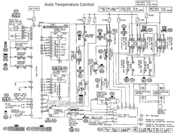 2004 nissan maxima wiring diagram