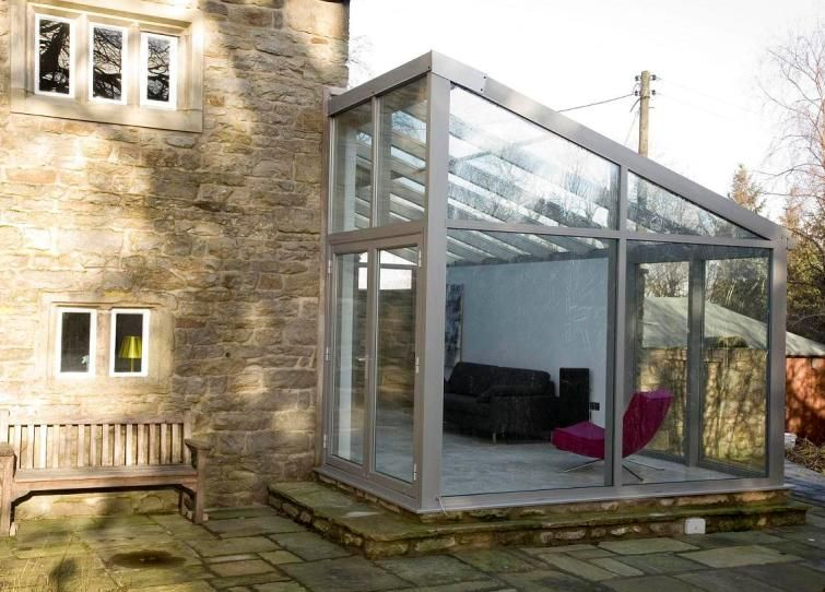 Lean to conservatories apropos conservatories mom for Glass rooms conservatories