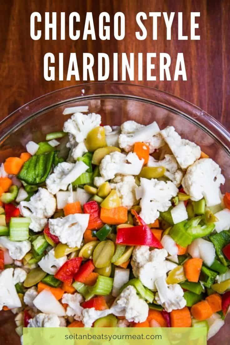 Photo of Homemade Giardiniera Recipe with Oil and Vinegar