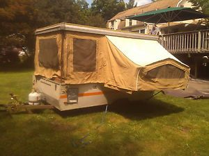 1976 Bethany Pop Up Camper With Title Vintage Camping