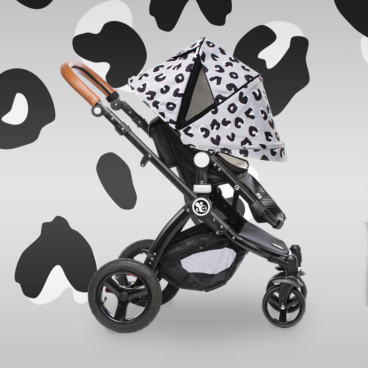 Grey Leopard COMET plus 🐾 babybeeprams