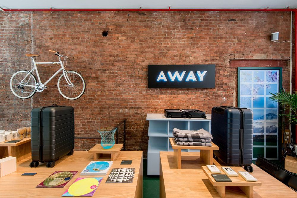 The new travel brand opens a downtown New York shop inspired by two of the  founders'favorite destinations.