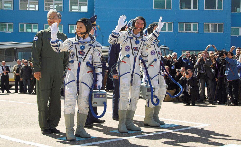 Космодром Байконур (фото известных космонавтов ...
