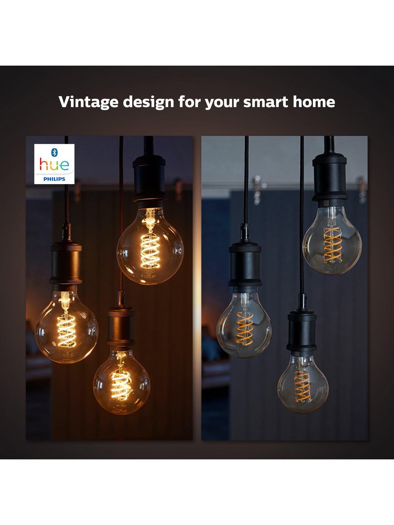 Hue White Filament Single Smart LED Globe [E27] with