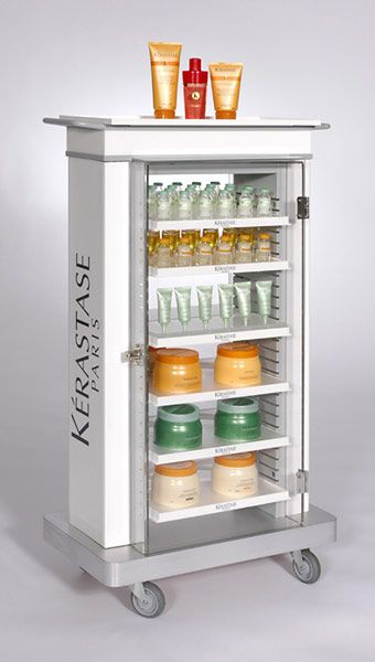 Kerastase Display Products We Loooove Pinterest Display Pos Beauteous Salon Retail Display Stands