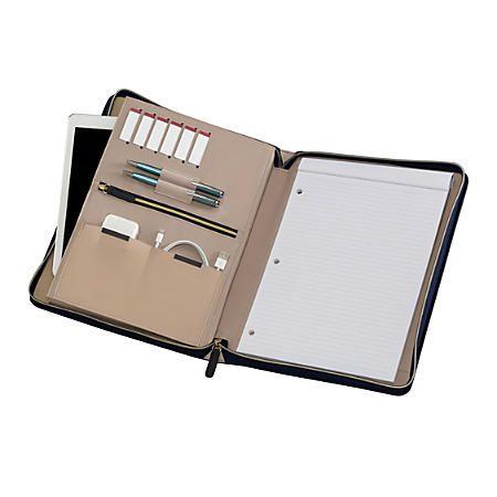 wenger amelie women s zippered padfolio with 10 tablet pocket 13 rh pinterest com