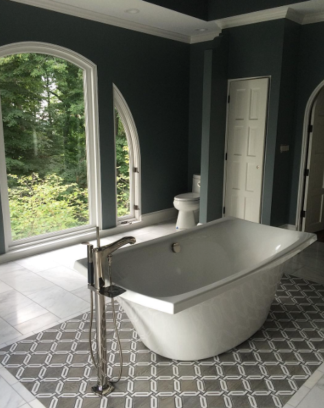 master bathroom tile carpet kki instagram photo feed pinterest rh nl pinterest com