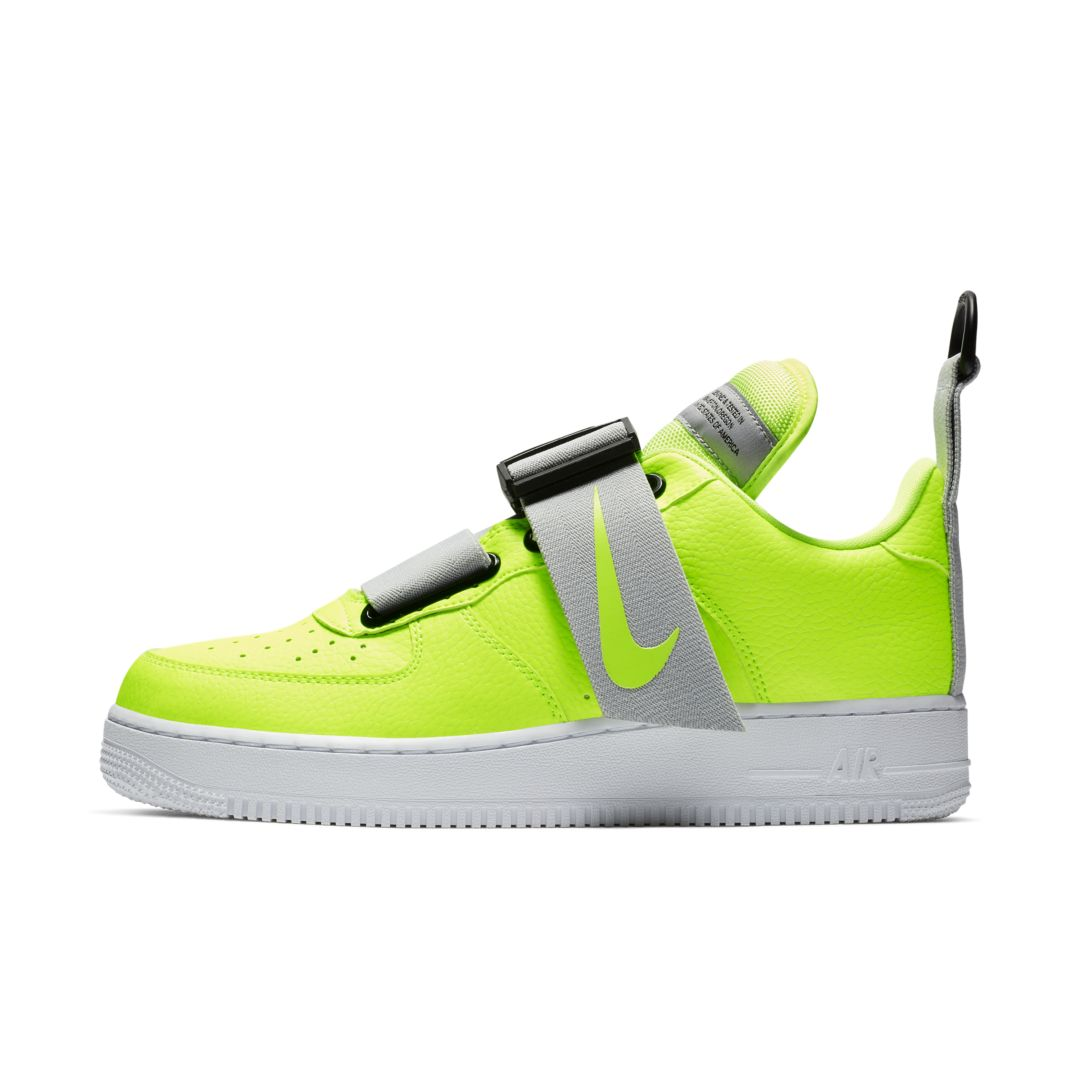 7ea62c1826 Nike Air Force 1 Utility Men s Shoe Size 7 (Volt)