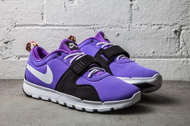 The Nike SB Trainerendor SE comes back and takes on Purple Venom.