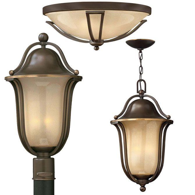 Traditional Design Bolla by Hinkley. Energy saving outdoor lighting