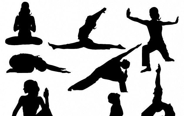yoga silhoutte vector poses graphics yoga yoga poses poses rh pinterest com