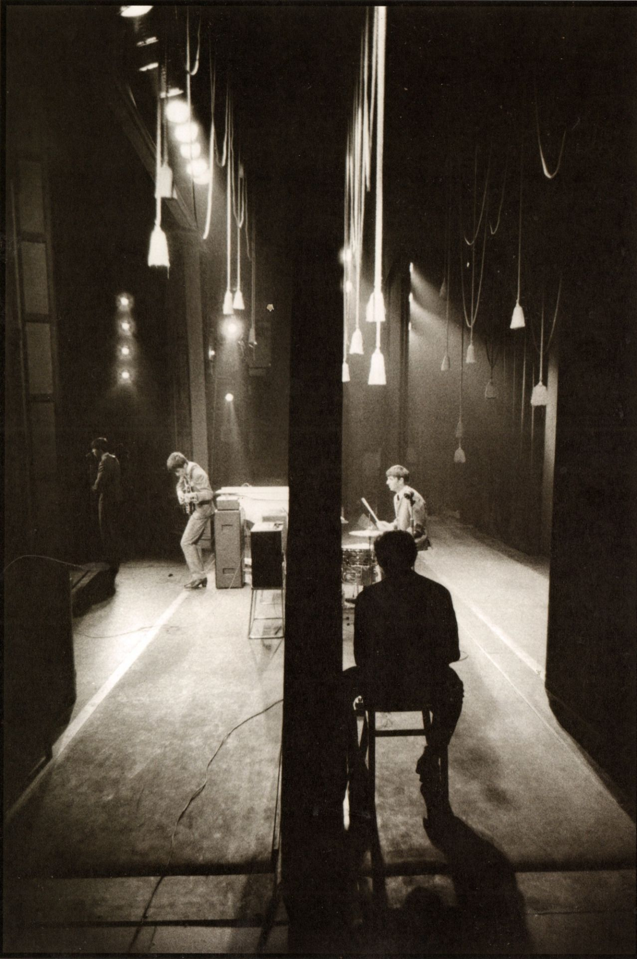 """psychedelicway: """" The Beatles on Stage - 1963 Photo : Philip Jones Griffiths """""""