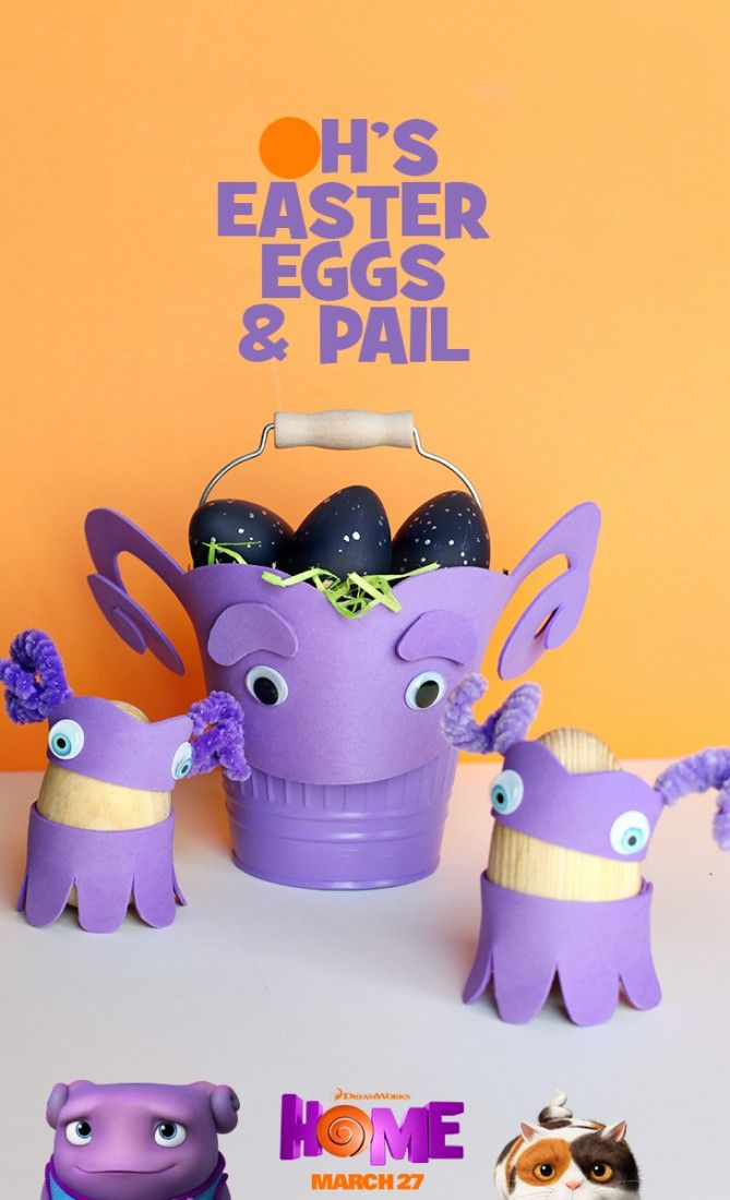 use an oh inspired pale to collect all your easter eggs sponsored rh pinterest com