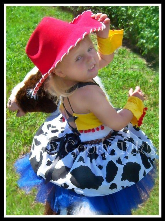 STORYTIME vaquera Jessie inspirado 5pc tutú conjunto con Top encorsetado a1dce1e8299