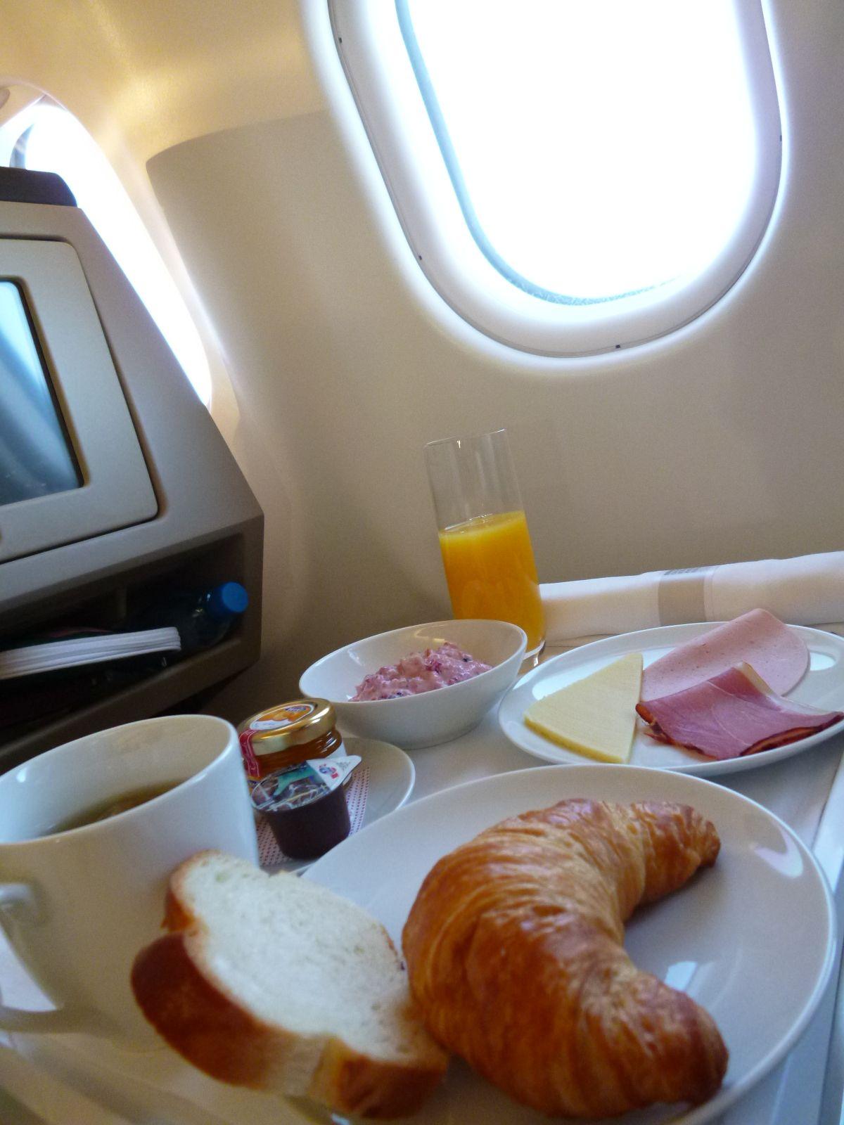 swiss air business class sfo to zurich