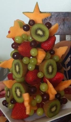 i like the fruit shapes idea, another spin on just a strawberry tree