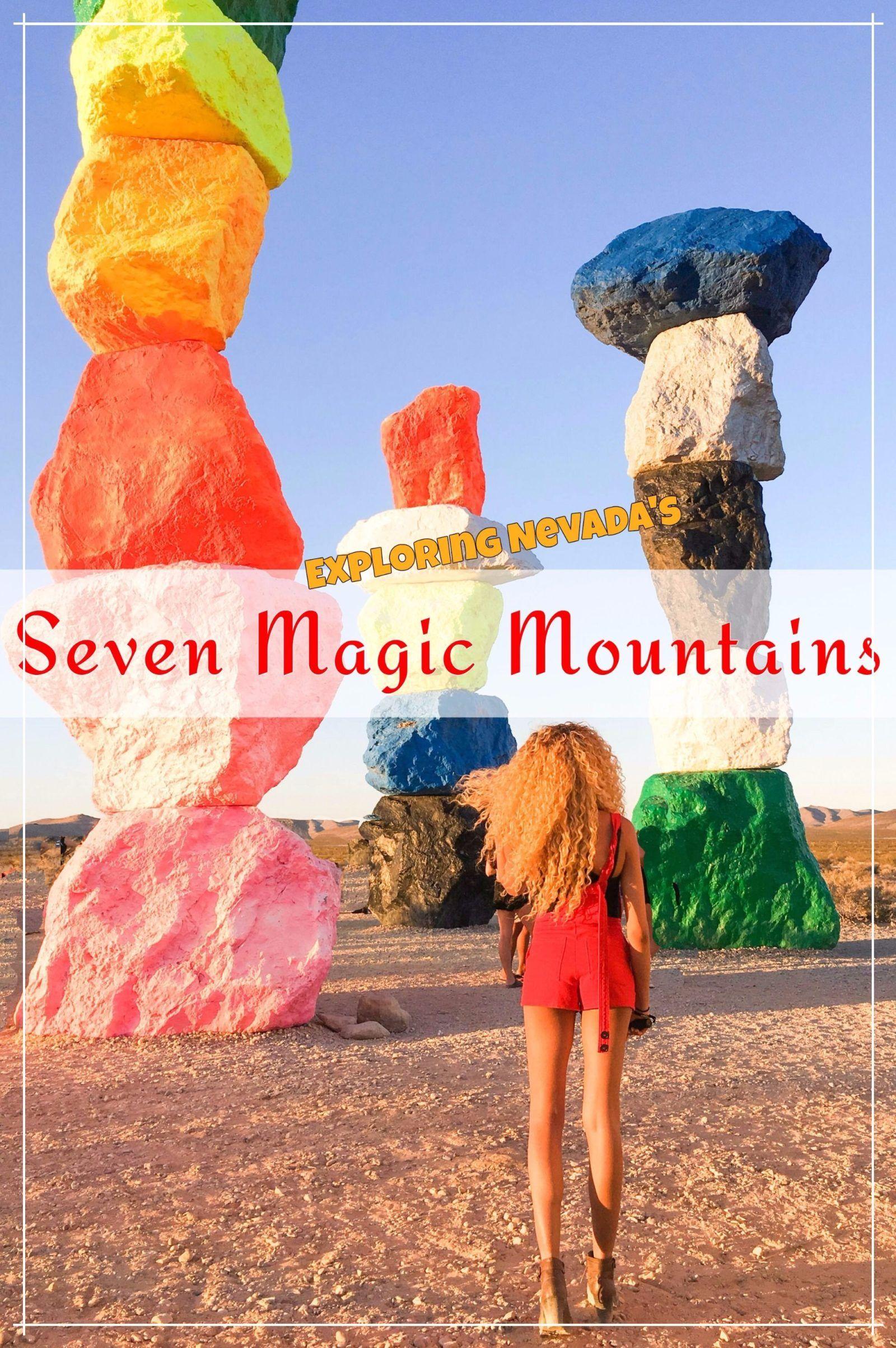 Interactive Map Usa Road Trip%0A Seven Magic Mountains  u     The Awkward Traveller