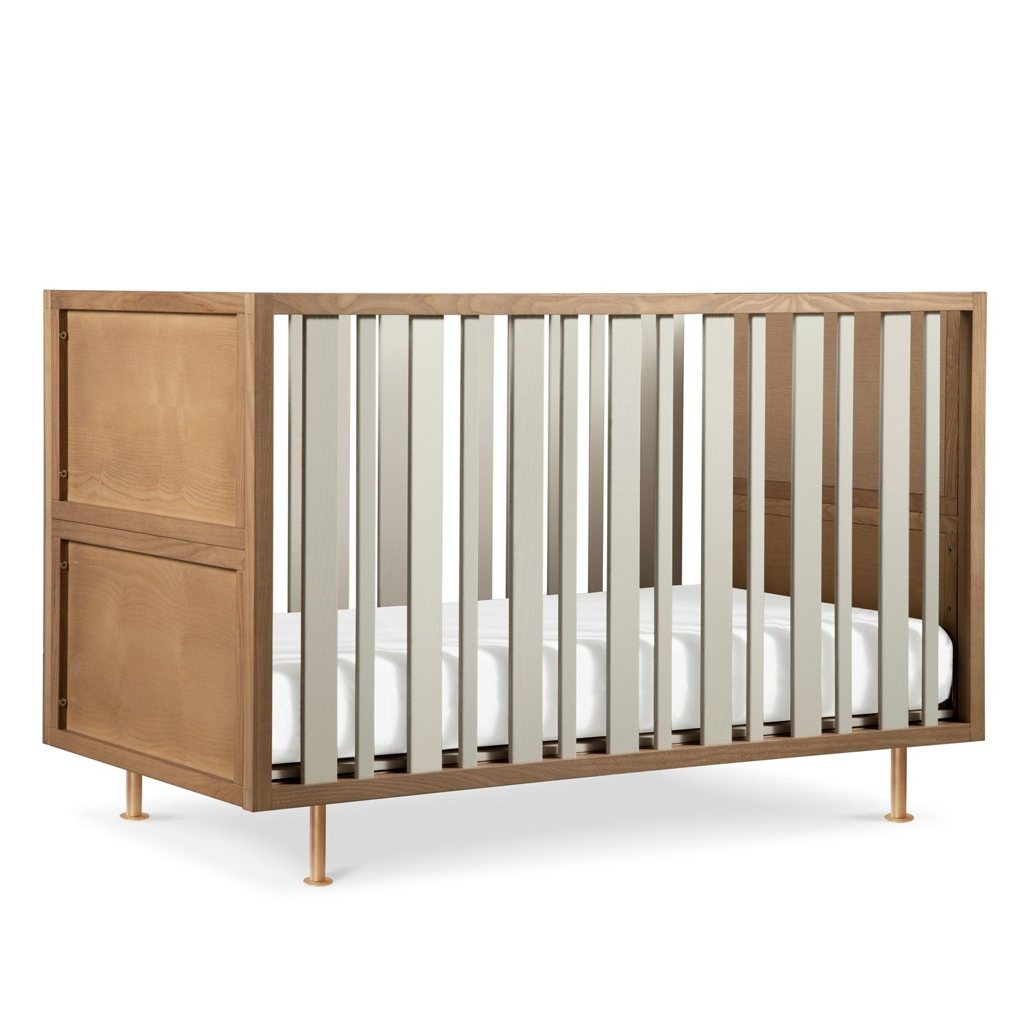Designed to grow with your child, the Novella Convertible Crib cleverly transforms into several pieces of furniture. http://www.yliving.com/nurseryworks-novella-convertible-crib.html