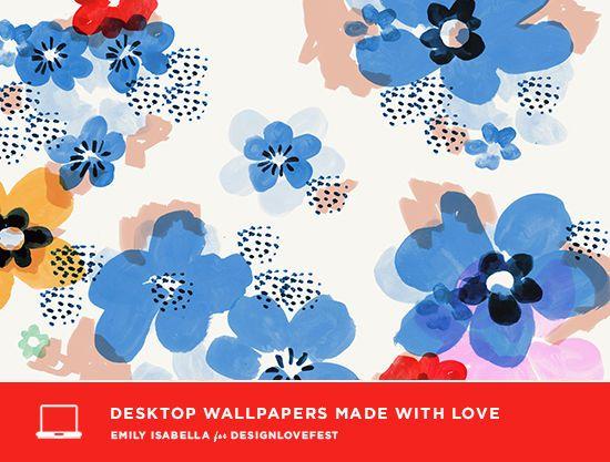 creative desktop wallpaper flowers designlovefest flowers rh pinterest com