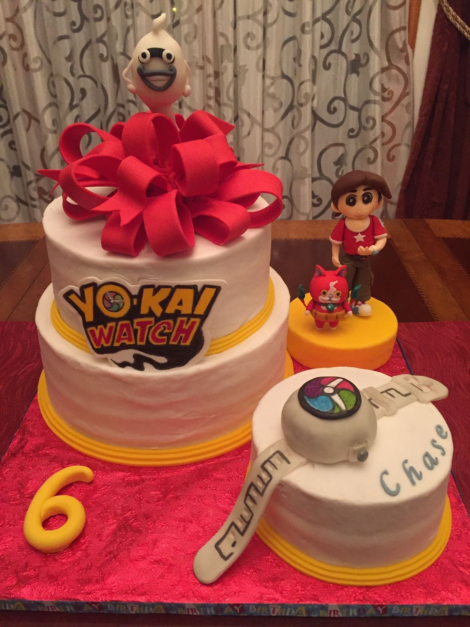 Yo Kai Watch Birthday Cake Yo Kai Birthday Ideas Pinterest