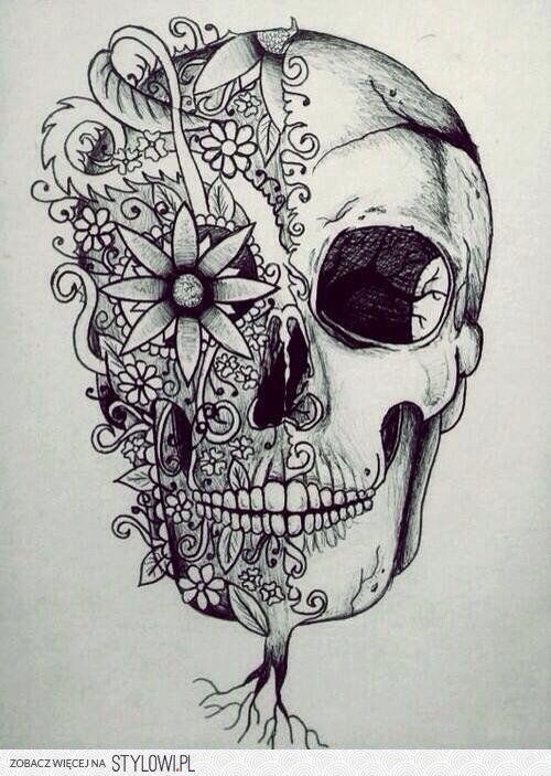 Detailed skull tumblr pictures pinterest fingern gel for Minimal art kunstwerke