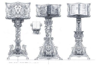 COLDRUM The Art of Jeremy Love: Dawn Treader Concept Art 6 - Magician's Mansion