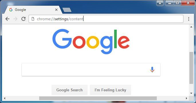 Type Chrome Settings Content In The Address Bar Zombie Life New Zombie Zombie Nurse