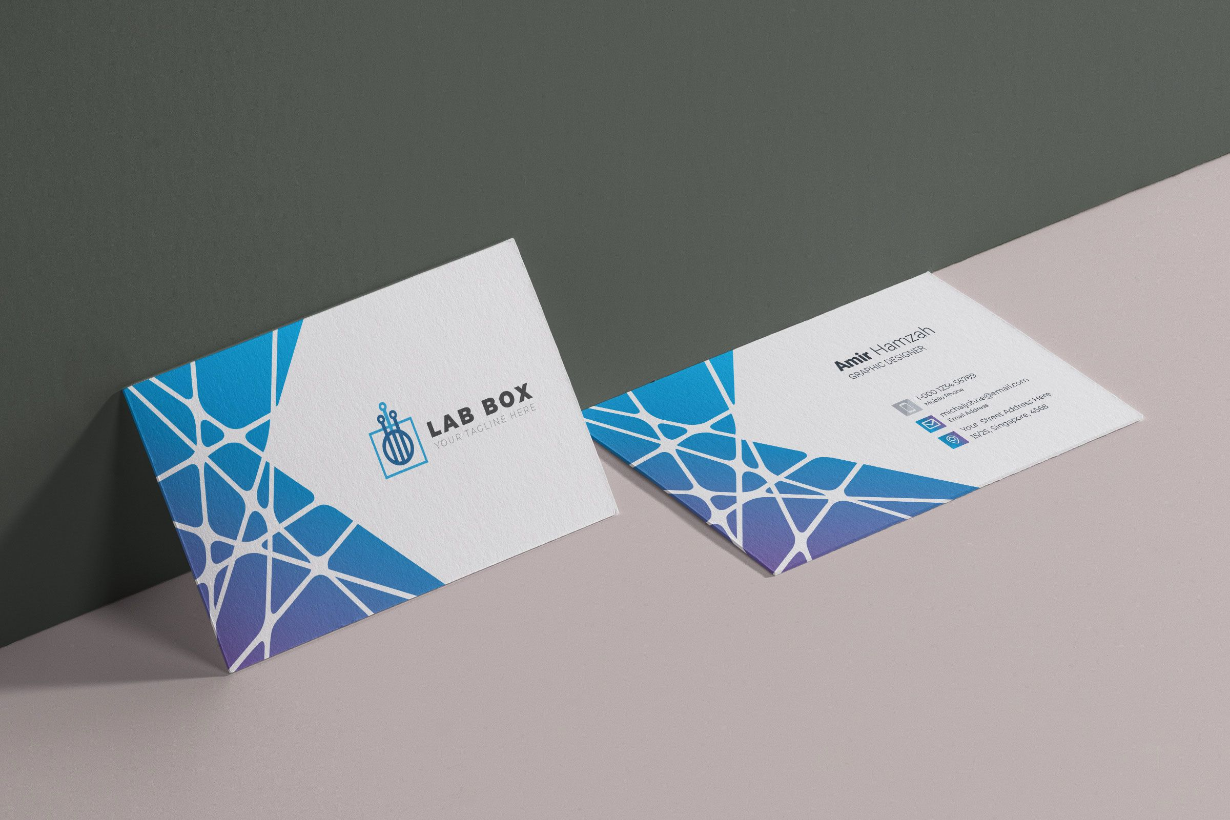 Elegant Visit Card Template Graphic Templates Graphic Design Business Card Visiting Cards Business Card Design Minimal