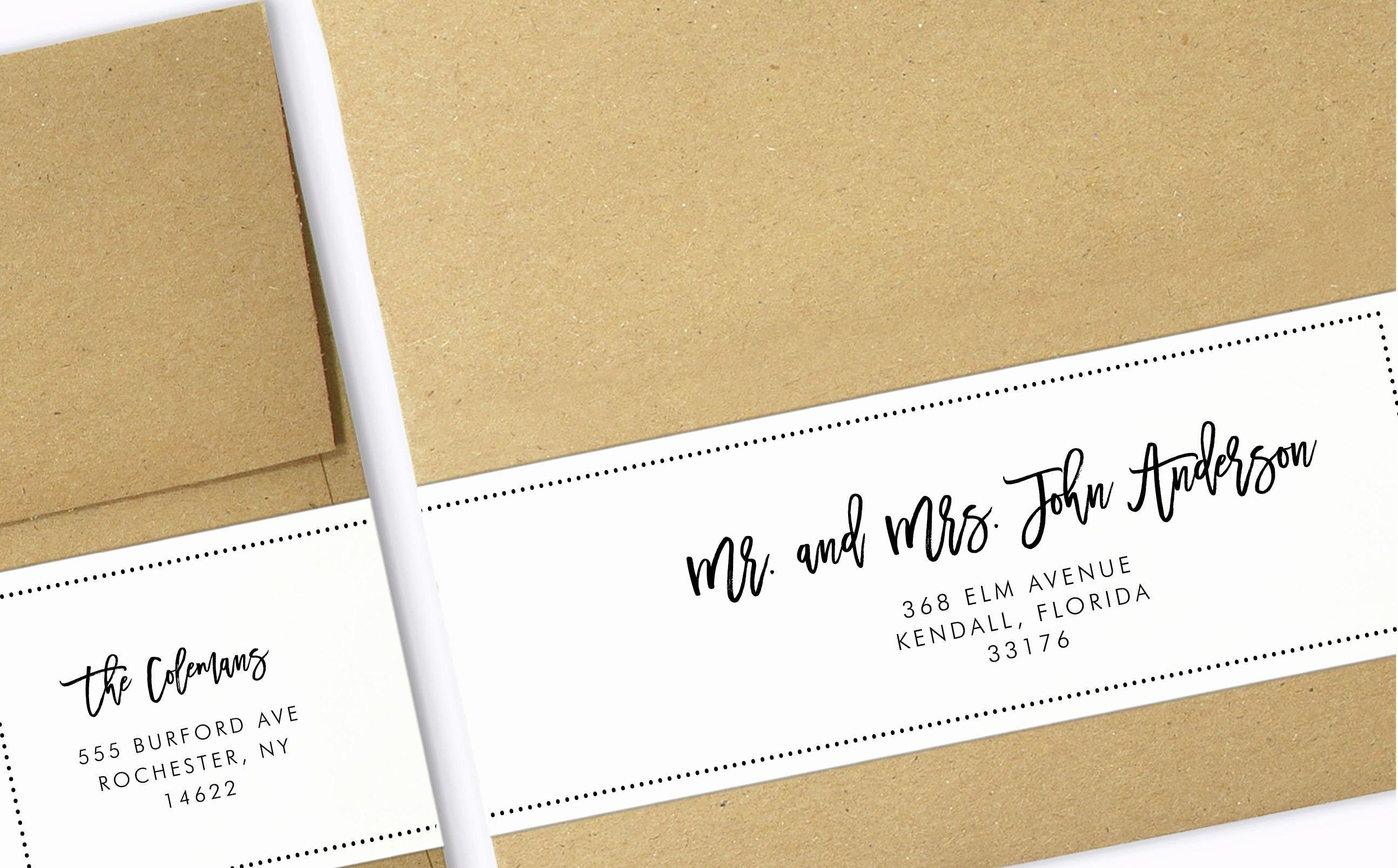 Beautiful Wrap Around Labels Printable Address Labels Wedding Address Label Template Wedding Address Labels Label Templates