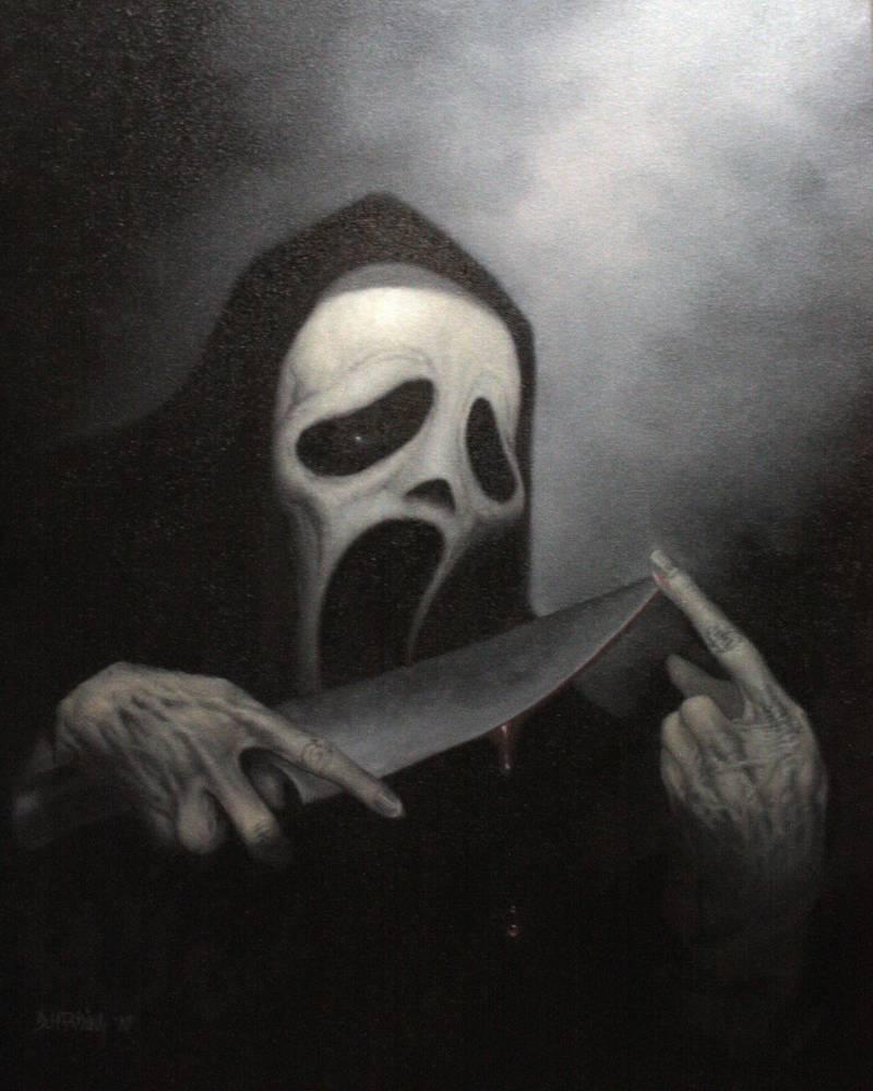 Ghost Face By Dan Harding On Deviantart In 2020 Ghost Faces Horror Movie Art Movie Art
