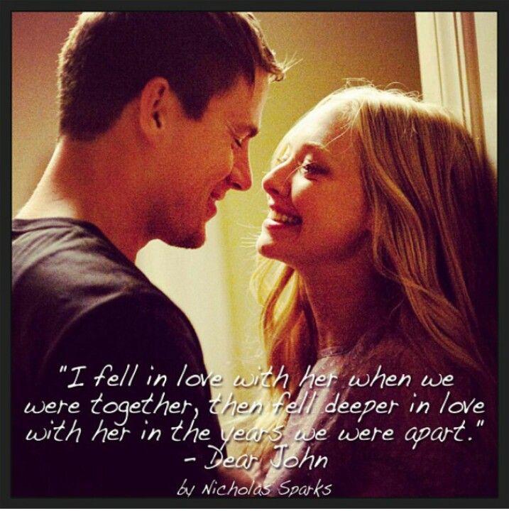 Love Quotes For Him Movies : Best 25+ Dear John Quotes ideas on Pinterest Dear john book, Dear ...