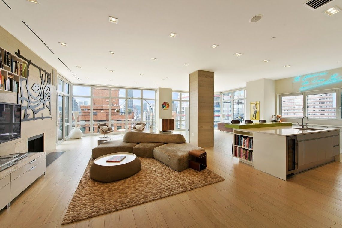 penthouse of the milan condominium midtown nyc used in martin rh pinterest com