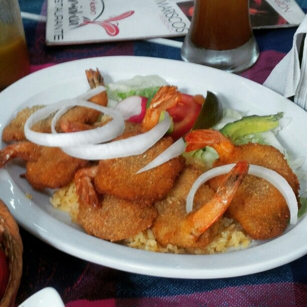 Camarones empanizados #ParaelAlma #Veracruz (luego les paso la receta)