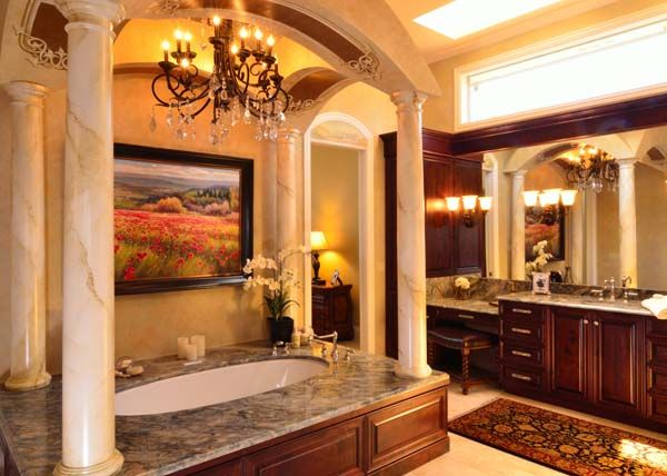 Tuscan Style Bathroom Designs Delectable Tuscan Bathroom Remodel  Bathrooms  Pinterest  Tuscan Bathroom Decorating Design